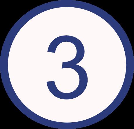 Bulletpoints blue 3
