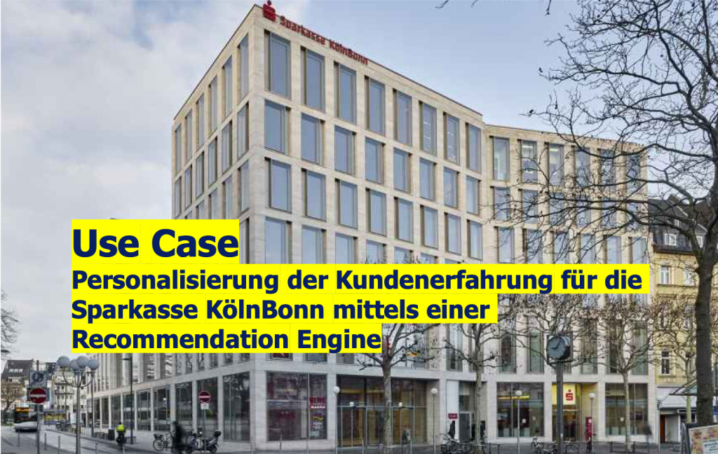 Sparkasse Recommendation Engine